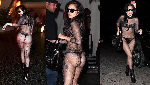 Lady Gaga llama la atención de cualquier forma. (Internet)