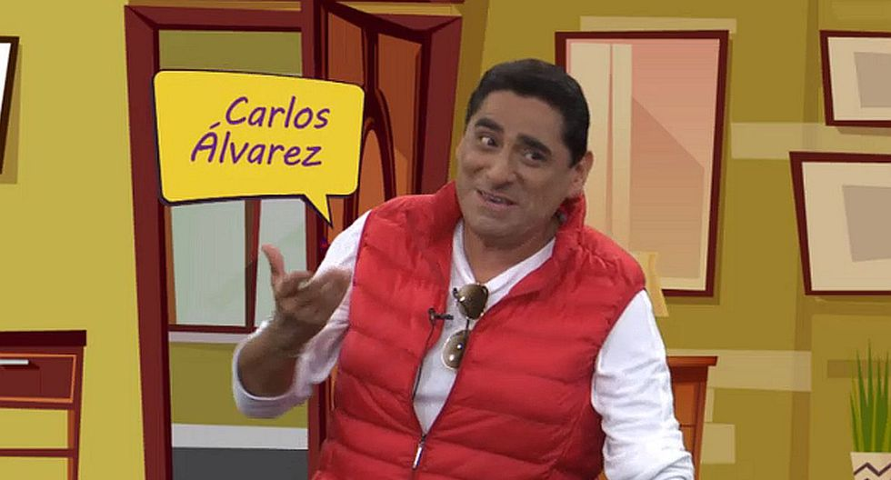 El humorista Carlos Álvarez mostró las primeras imágenes de su nuevo programa. (Foto: Captura de video)