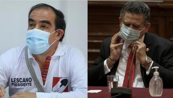 Yonhy Lescano se mostró a favor de que Manuel Merino sea retirado de Acción Popular. (Foto: GEC)