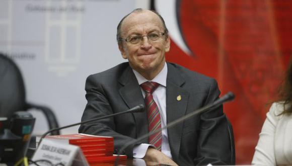 Peláez verificará información del exmandatario. (Mario Zapata)