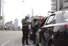 Gobierno dispone que restricción vehicular continúe los días domingo en Lima y Callao