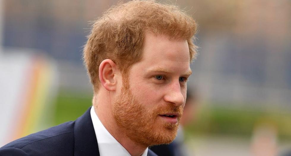 Imagen del príncipe Harry. (AFP).