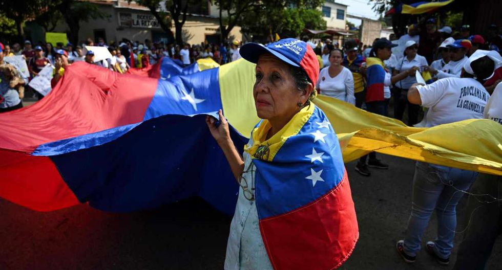 Ureña es epicentro de la pugna por el ingreso de la ayuda humanitaria entre el gobierno de Nicolás Maduro y el opositor Juan Guaidó. (Foto: AFP)