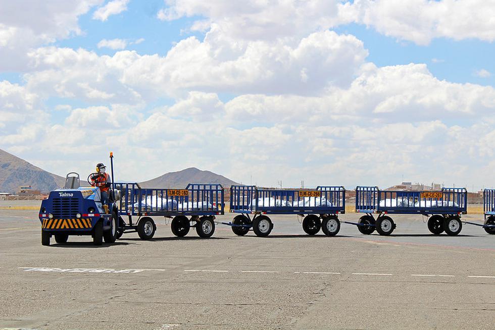 Legado Lima 2019 continúa con las obras del CAAT de Juliaca para llegada de materiales. (Legado Lima 2019)
