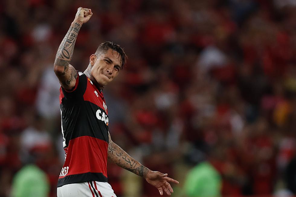 Paolo Guerrero no se presenta con Flamengo desde noviembre del año pasado. (GETTY IMAGES)