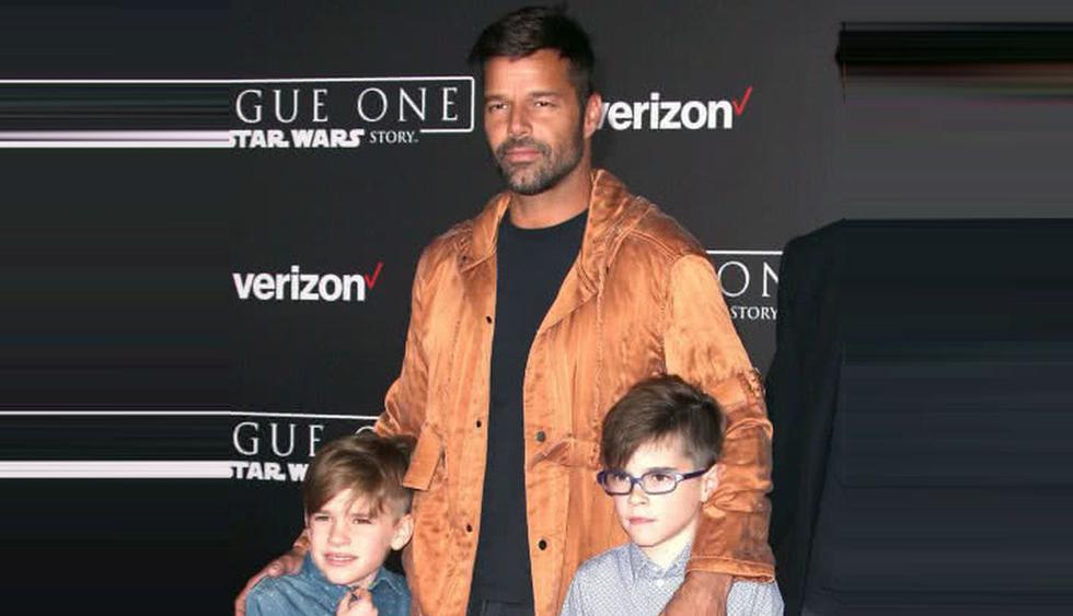 Mellizos de Ricky Martin lo ayudan a recaudar fondos para damnificados del Huracán María en Puerto Rico. (Foto: EFE)