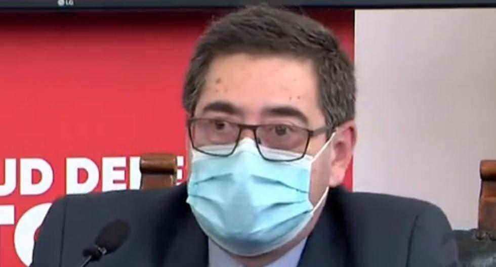 Imagen del representante en Perú de la OPS/OMS, Carlos Roberto Garzón. (Captura de video/Facebook).