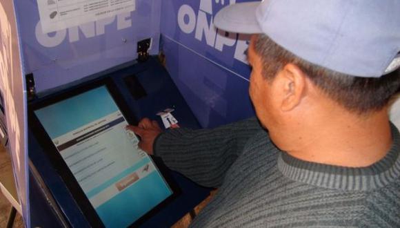 ONPE anuncia ampliación de voto electrónico para elecciones de octubre. (Difusión)