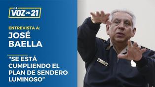 """José Baella: """"Se está cumpliendo el plan de Sendero Luminoso"""""""