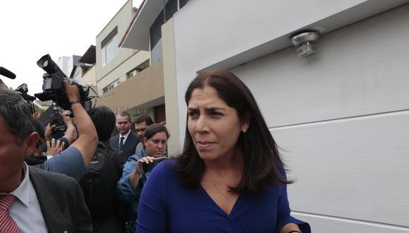 Úrsula Letona visitó hoy a Keiko Fujimori en el Penal Anexo de Mujeres de Chorrillos, donde cumple una prisión preventiva de 36 meses. (FOTO: USI)