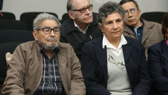 Elena Yparraguirre reclamó los restos de su esposo, el fallecido terrorista y cabecilla de Sendero Luminoso Abimael Guzmán. La fiscalía denegó el requerimiento. (Foto: Poder Judicial)