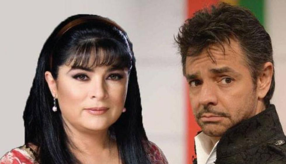 Eugenio Derbez y Victoria Ruffo