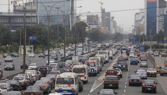 OTRO CORREDOR.. Se espera acabar con la congestión vehicular. (Perú21)