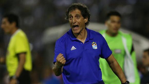 Mario Salas reiteró que a pesar de la goleada no ha ganado nada. (Foto: Jesús Saucedo / GEC)