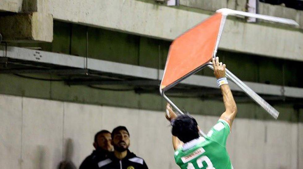 Tras once fechas del certamen de la primera división del fútbol chileno, Abreu no registra goles a favor del Audax. (REUTERS)