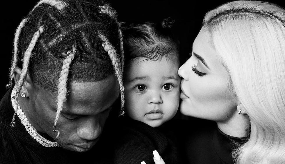 Kylie Jenner y Travis Scott celebran el primer cumpleaños de su hija Stormi Webster (Fotos: Instagram)