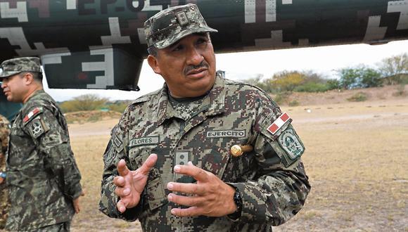 mucho que explicar. General del Ejército es investigado por actos de corrupción relacionados a más de un millón y medio de soles. (Lino Chipana)