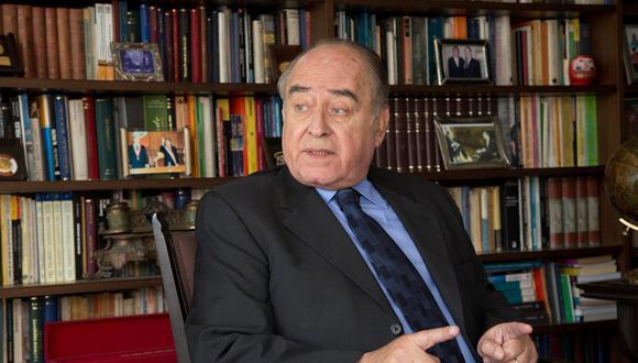 Ántero Flores-Aráoz expresó que no sabía que el presidente interno Merino que haya renunciado al cargo (GEC).