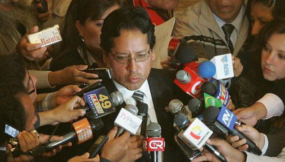 No descartó renunciar a Gana Perú. (USI)
