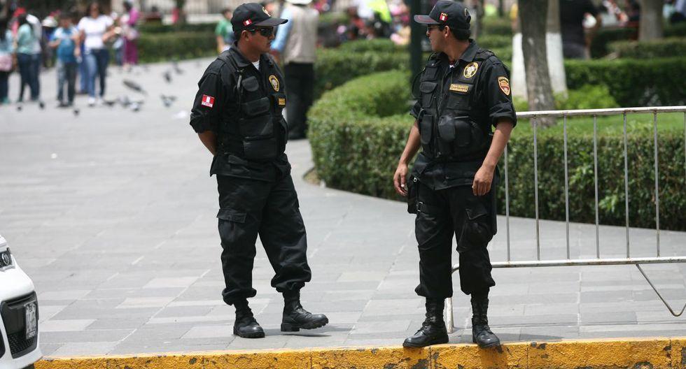 De concretarse el proyecto, los serenos podrán usar armas no letales para combatir la inseguridad ciudadana. (GEC)