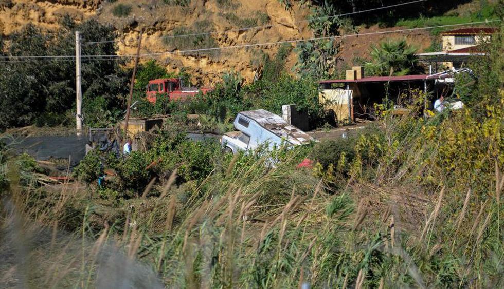 Murieron 12 personas, nueve de una misma familia, en inundaciones en Sicilia | Foto: AFP<br>