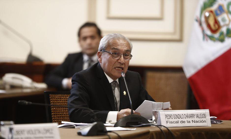 Cerca de 60 mil personas respaldan petición para destituir al Fiscal de la Nación. (César Campos/Perú21)