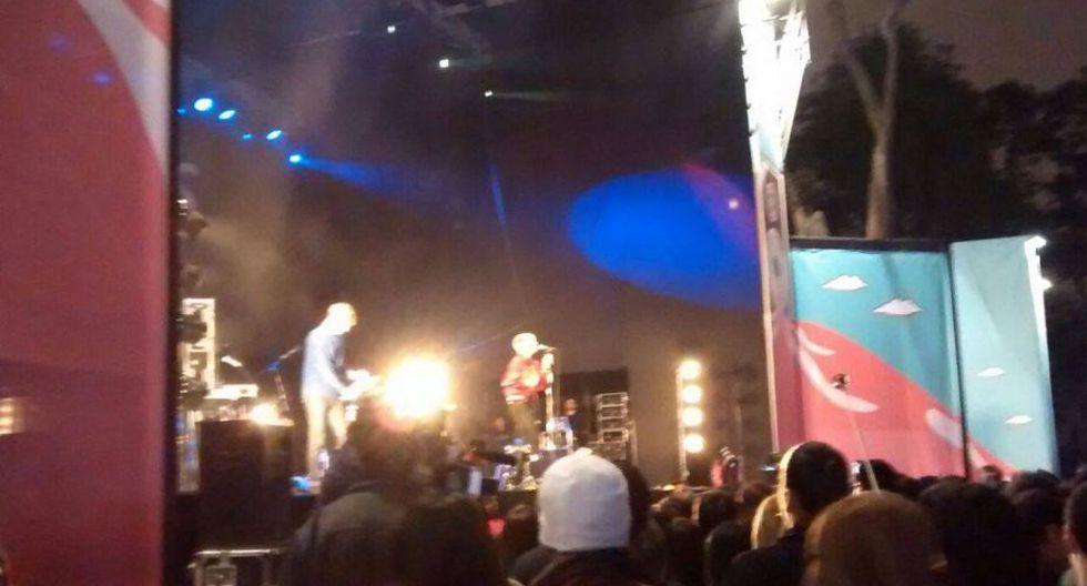 La banda argentina Delta Venus fue uno de los teloneros del concierto de MGMT.(Carolina Moreno)