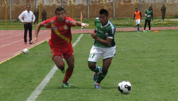 Los Caimanes igualaron 2-2 ante Sport Huancayo en Olmos. (Perú21)