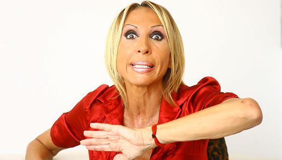 Laura Bozzo asegura que su intención no es hacer un show. (Karen Zarate)