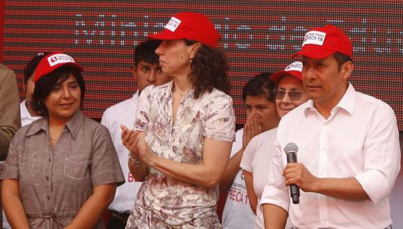 CON PALO. Ana Jara recibió nuevas críticas por su posición. (Nancy Dueñas)