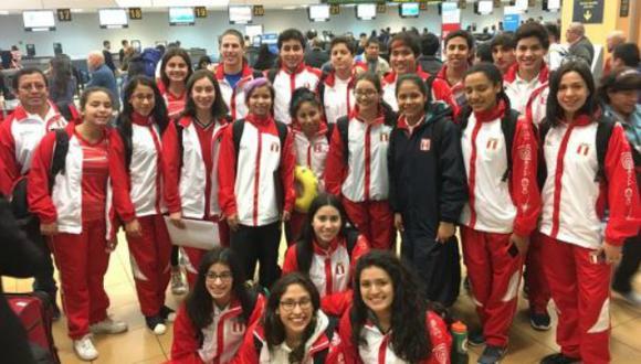 La delegación peruana tiene confianza. (Difusión)