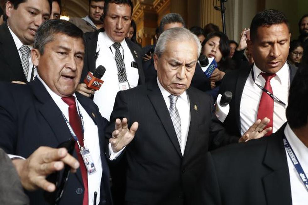 Fiscal suspendió diligencia, pero se reanudará en otra fecha aún por conocer. (Foto: Perú21)