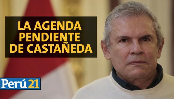 ¿Cuál es la agenda pendiente que tiene Luis Castañeda en la ciudad?