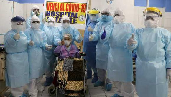 Médicos destacaron que parte clave del éxito fue la no existencia de comorbilidades. (FOTO: Minsa)