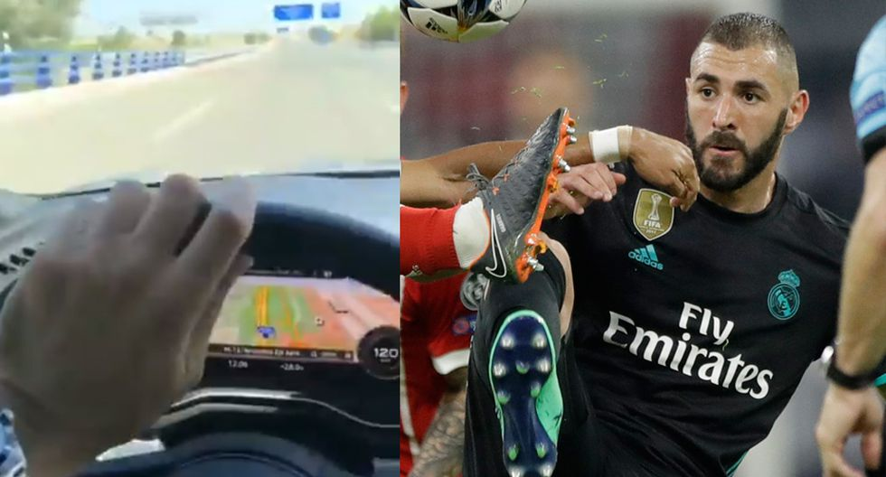 Karim Benzemá publicó polémica historia en Instagram que causó revuelo en España. (Instagram / AP)