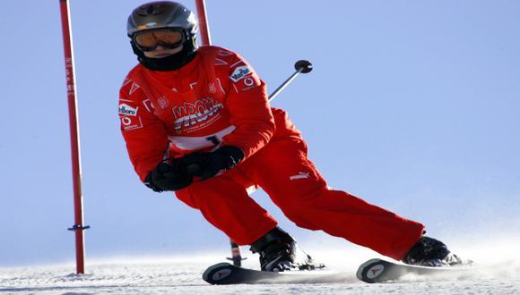 Schumacher sigue en coma. (AP)