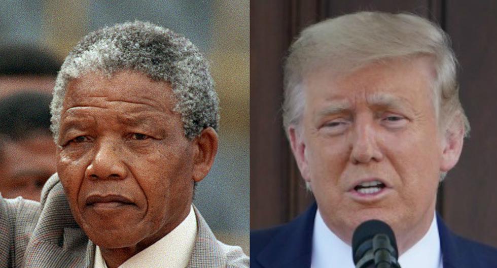 """Si bien la Casa Blanca ha desmentido la veracidad de los supuestos comentarios, Cohen (izquierda) coloca en boca de Trump (derecha) declaraciones como """"Que le jodan a Mandela, no fue un líder"""". (AFP - TREVOR SAMSON /  MANDEL NGAN)"""