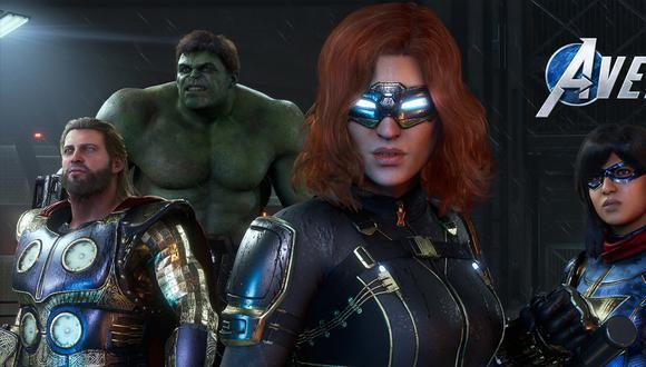 'Marvel's Avengers' llegará para PC, PS4 y Xbox One.