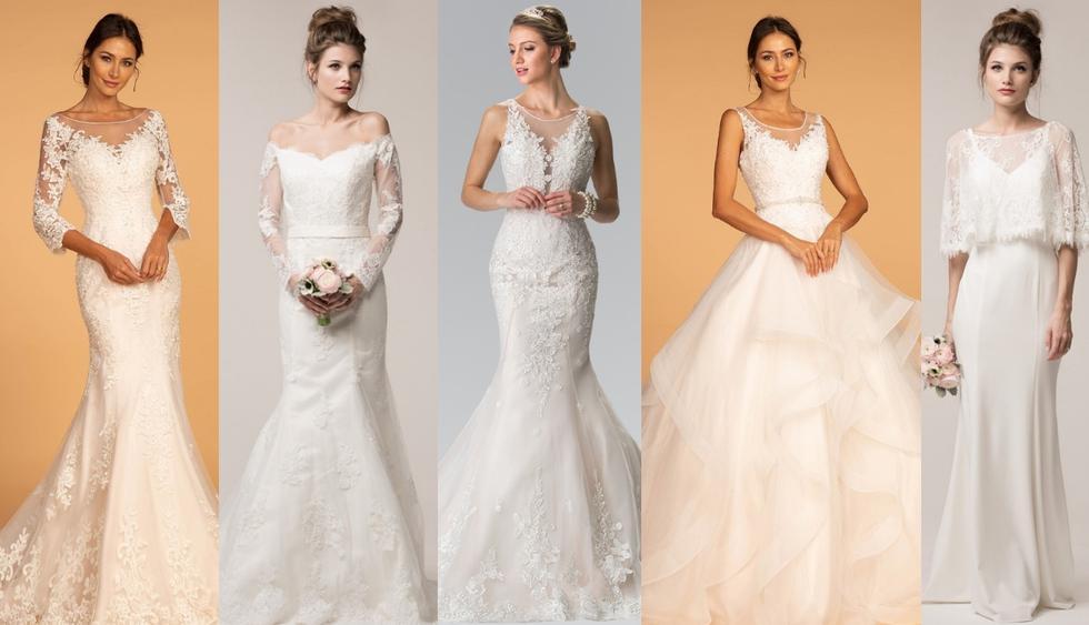 Si estás de novia y en busca del vestido con el que deslumbrarás el día de tu boda, atenta a estas opciones que son tendencia durante este año. (Foto: Difusión)