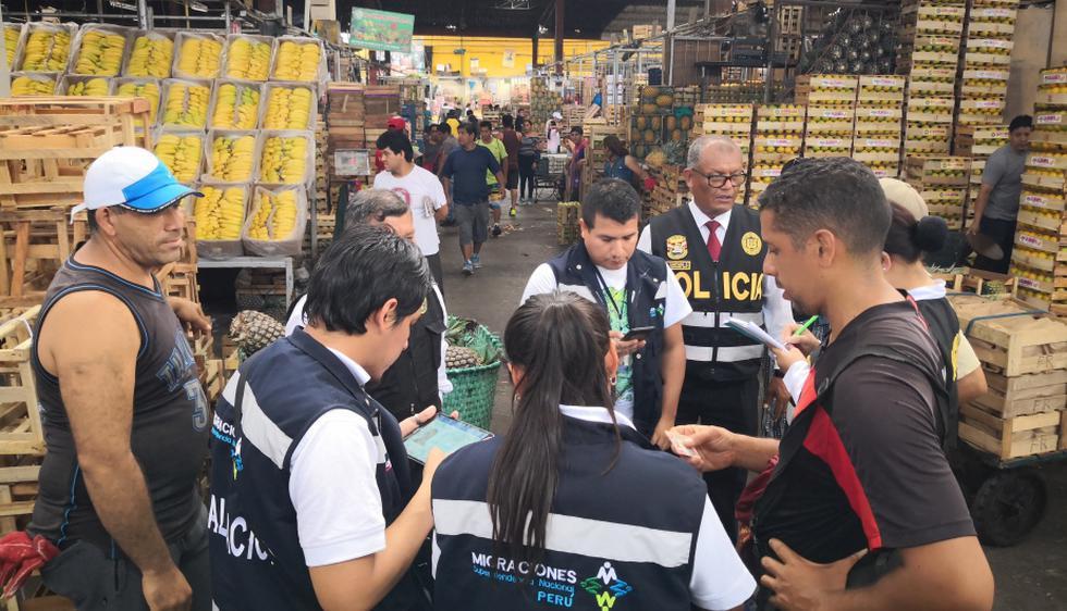 Se realizaron operaciones conjuntas entre Migraciones y la Policía Nacional. (Foto: Difusión)