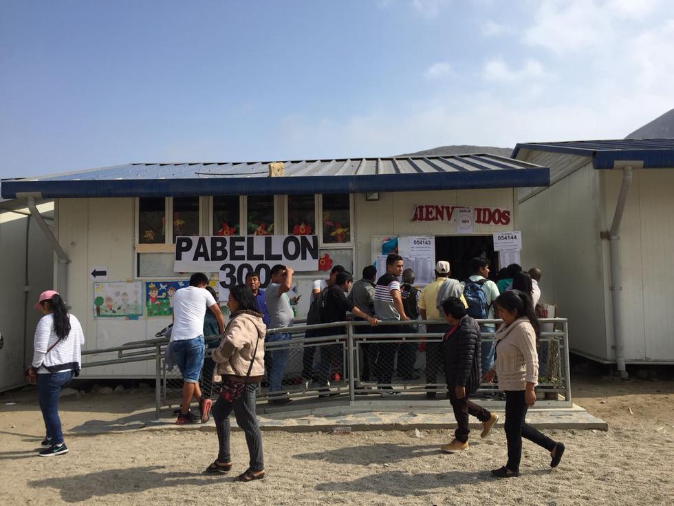 Colegio Rosa Santa María en Cieneguilla. (Fabiola Valle/ Perú21)