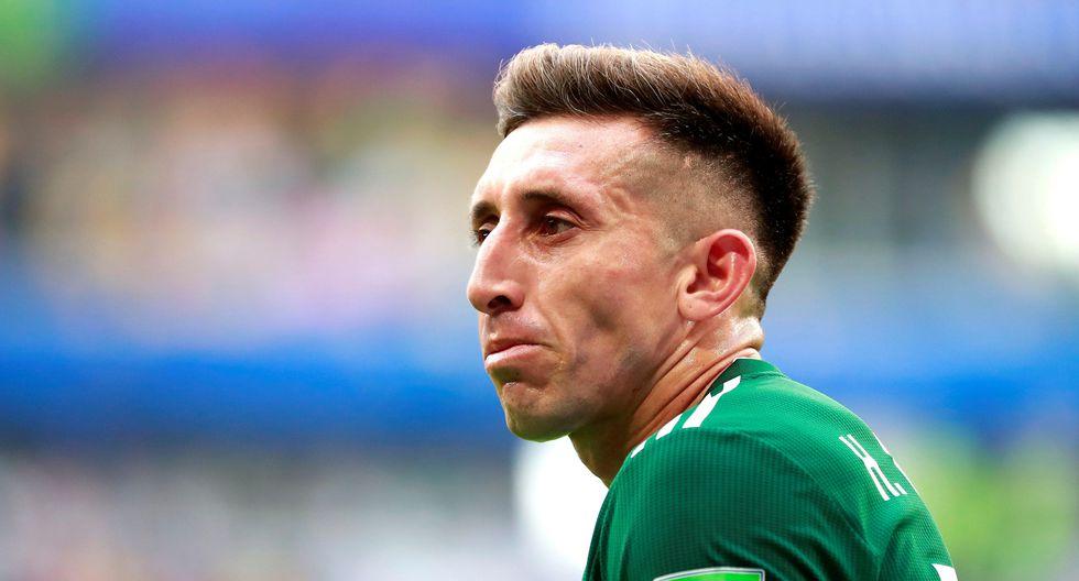 Héctor Herrera decidió pasar por el quirófano y se realizó una operación a la nariz y las orejas. (Reuters)