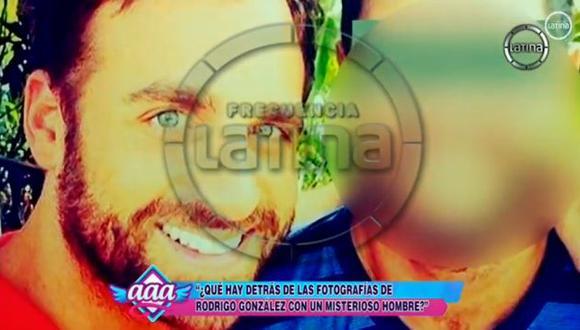 'Peluchín' aparece en la foto abrazado de su amigo. (Canal 2)