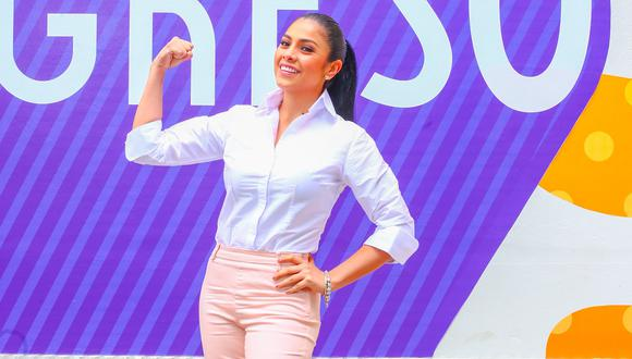 Maricarmen Marín, actriz, cantante y conductora de TV.