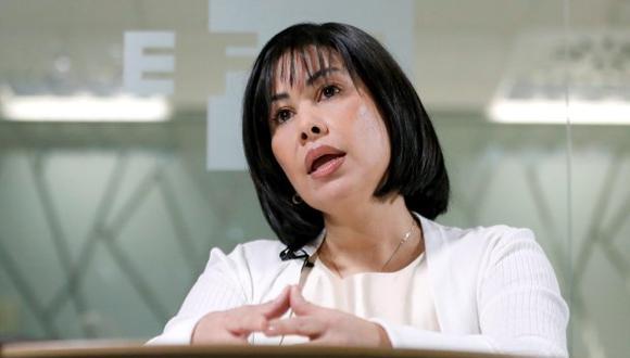 La enfermera anunció que pedirá asilo en España, a la espera de que la Audiencia Nacional resuelva su recurso contra su extradición. (Foto: EFE)