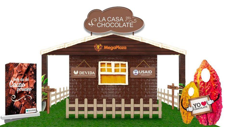 La casa del chocolate estará ubicada en el centro comercial Mega Plaza. (Difusión)