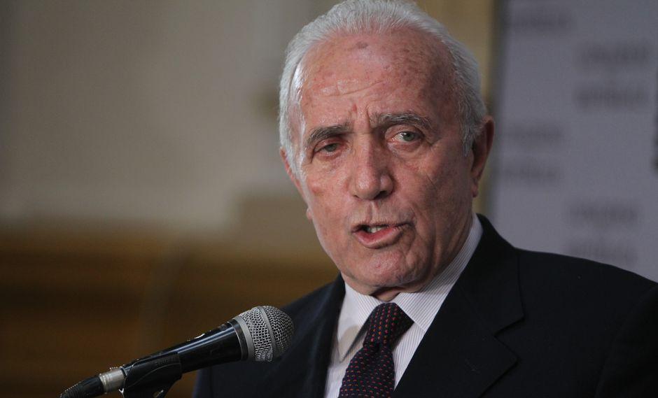 El congresista Guido Lombardi cuestionó que Pedro Chávarry acuse a miembros de su bancada sin haberlos citado. (USI)