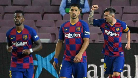 Barcelona vs. Villarreal se enfrentarán en la jornada 34 de la Liga Santander. (Foto: AFP)