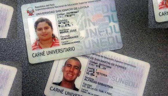 27 universidades y 13 escuelas e institutos de educación superior no han solicitado el carné universitario. (Liz Saldaña)