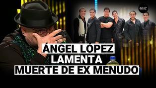 Jurado de Yo soy, Ángel López se quiebra al dar noticia de muerte de ex Menudo